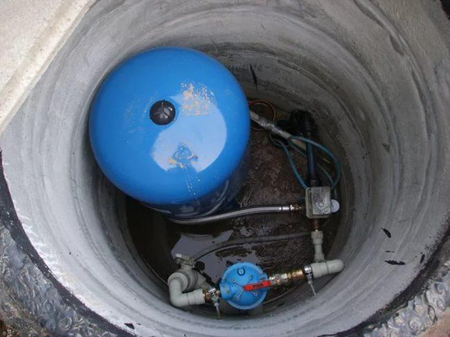 Обустройство водоснабжения из колодца с помощью насосной станции