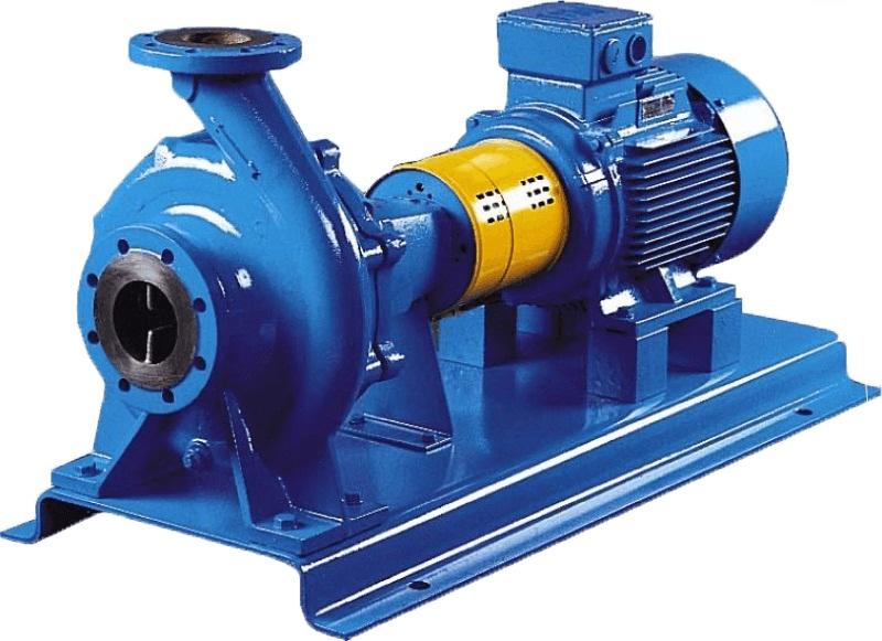 Промышленный центробежный насос для воды