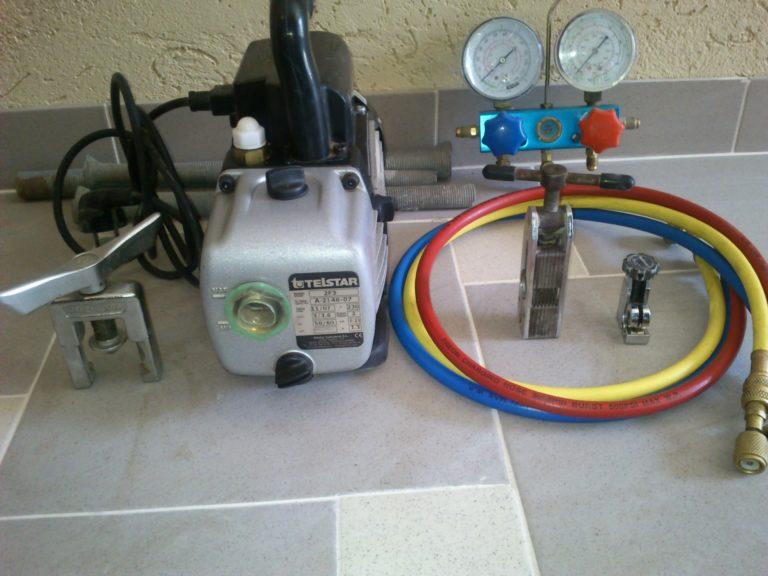Комплект оборудования для вакуумирования кондиционера