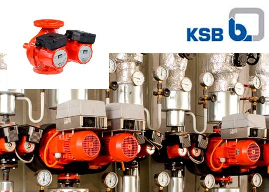 Циркуляционные насосы KSB