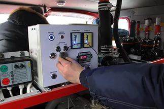 Тестирование пожарного насоса