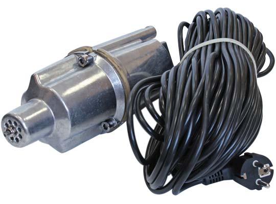 Вибрационные насосы поставляются в комплекте с кабелем