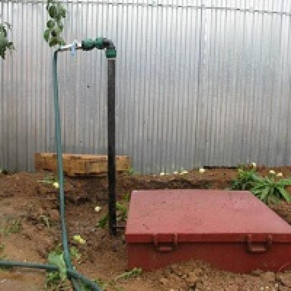 Пример реализации водоснабжения частного дома из скважины