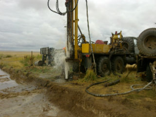 Бурение гидрогеологической скважины