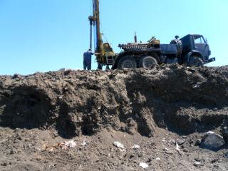 Бурение инженерно-геологической скважины