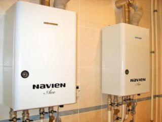 Котел газовый Navien, автоматический, 60 л