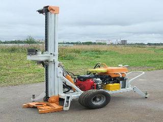 Малогабаритная буровая установка МГБ50П