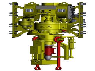 Система верхнего силового привода буровой установки, бурильная
