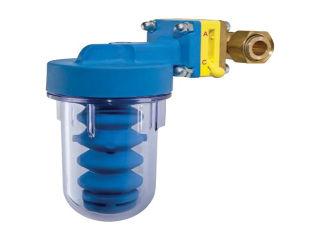 Умягчитель воды для котла, со сменным фильтром