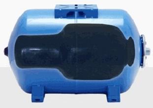 Расположение мембраны внутри бака-гидроаккумулятора.
