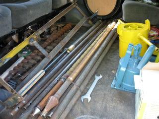 Трубы для вбивания в скважину