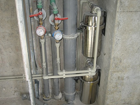 Пример подключения и замены стояков водоснабжения и канализации
