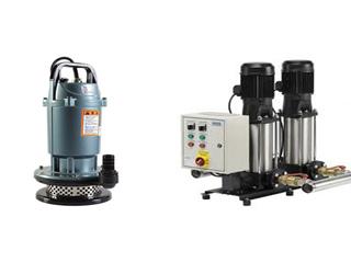 Погружное и поверхностное насосное оборудование высокой мощности.