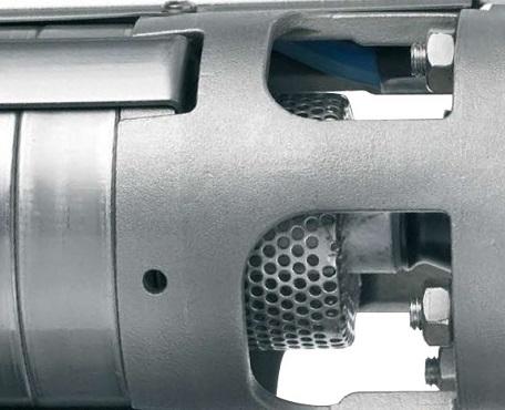 Фильтр на всасе скважинного насоса Grundfos
