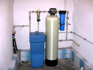 Размещение фильтра для очистки воды в трубопроводе