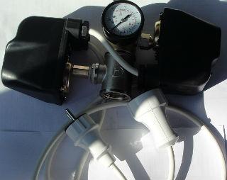 Реле давления с манометром