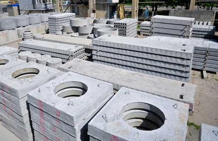 Плиты перекрытия колодца квадратной формы
