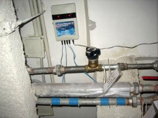 Схема подключения электромагнитного умягчителя