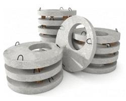 Круглые плиты перекрытия колодца