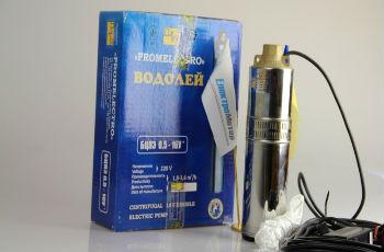 Водолей БЦПЭ для колодца с коробкой и базовой комплектацией.