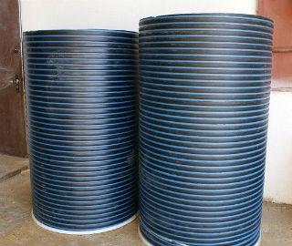 Полимерные кольца для колодца из полиэтилена низкого давления