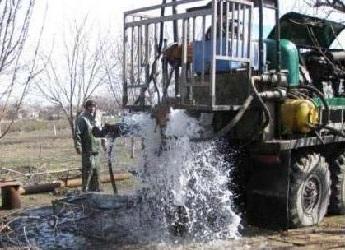 Процесс промывки скважины с применением компрессора