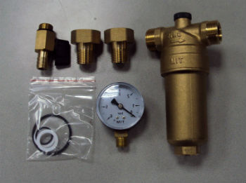 Промывной фильтр для очистки от механических примесей в базовой комплектации