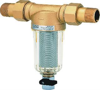 Промывной фильтр со сменным картриджем и резьбовым соединением