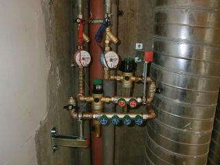 Схема подключения промывного фильтра для защиты от механических примесей