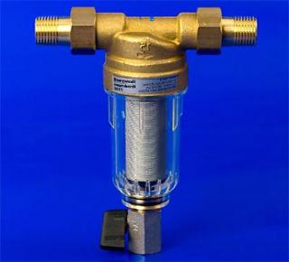 Сетчатый бытовой фильтр для воды обратной промывки.