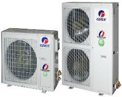 Внешний вид наружных блоков теплового насоса «воздух-вода» Gree Versati