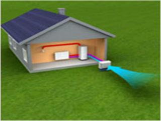Схема теплового насоса воздух-воздух