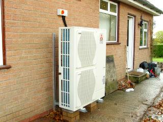 Тепловой насос Mitsubishi воздух-воздух для системы отопления