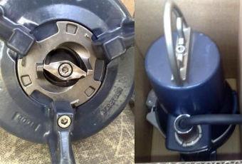 Фекальный бытовой насос с измельчителем