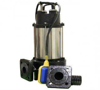Фекальный электрический насос с возможностью измельчения отходов