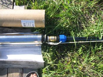 Пример подключения погружного скважинного насоса