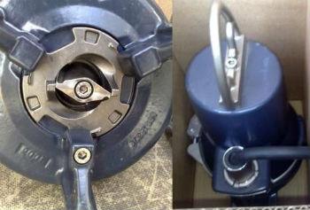 Пример стального измельчителя в погружном насосе