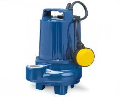 Обычный фекальный насос с измельчителем и поплавковым выключателем
