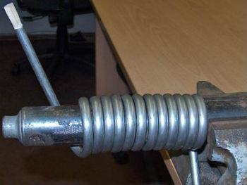 Обмотка для самодельного теплового насоса из стали