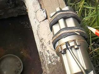 Пример подключения насоса Малыш для оборудования внутри колодца