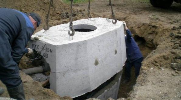 Монтаж кабельного колодца