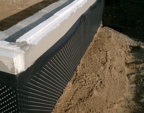 Гидроизоляция снаружи стен подвала