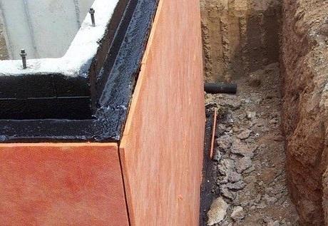 Утепление стен подвала пенополистиролом снаружи