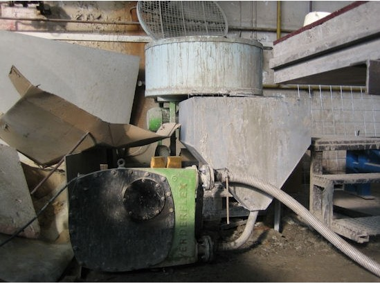 Большой перистальтический насос для бетона