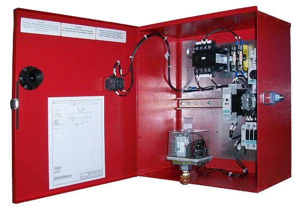 Шкаф управления противопожарными насосами