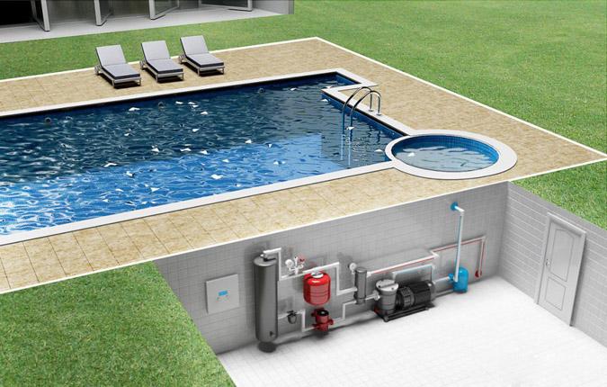 Насосная установка для бассейна