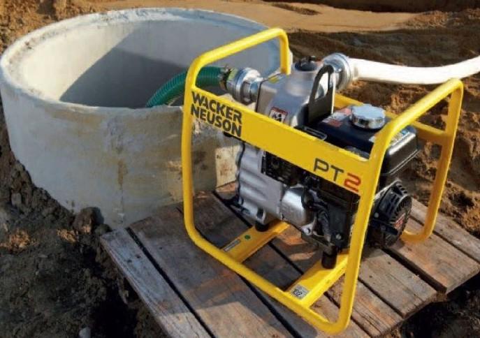 Мотопомпа для откачки выгребной ямы