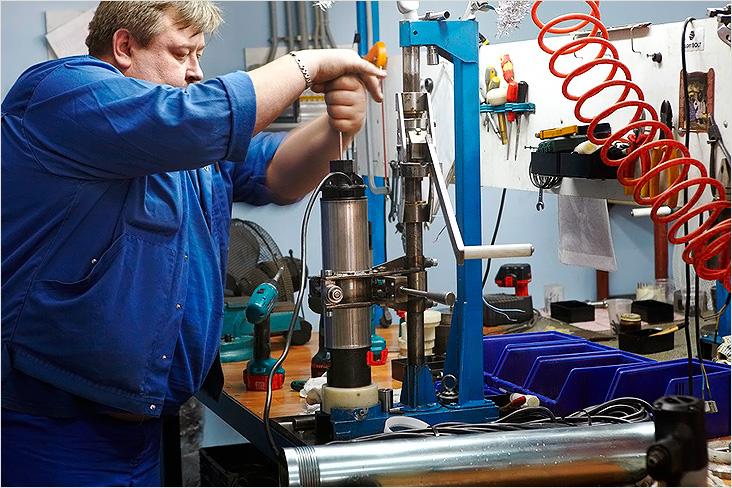 Очистка и ремонт скважинных насосов