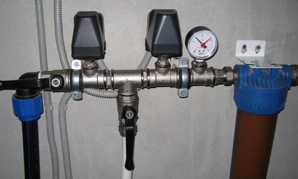 Датчики реле давления воды в системе водоснабжения