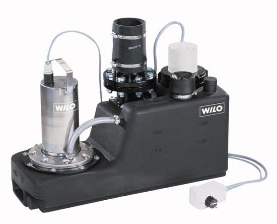 Установка для откачивания грязных/сточных вод Wilo-DrainLift S